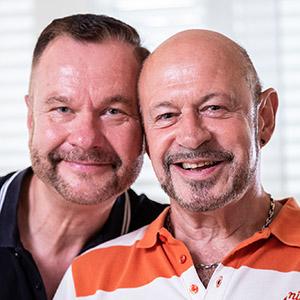 Speaker - Beni Steinauer und Rolf Könemann